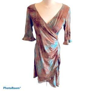 🔥NWT Algo Faux Wrap Dress